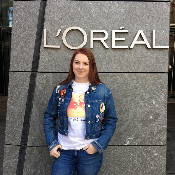 Anny Haggerty at L'Oreal offices in New York.