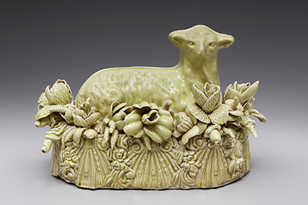 Professor Kate Maury's butter dish was featured in an exhibit at Navy Pier in Chicago.